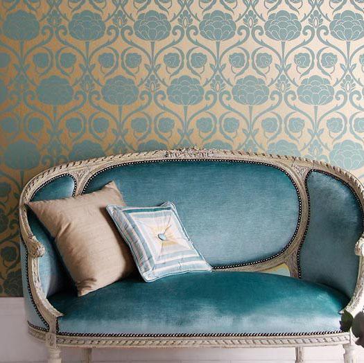 Luxus textil tapéták